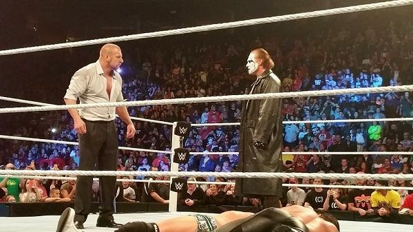 EXCLUSIVE PHOTOS : STING'S WWE DEBUT AT SURVIVOR SERIES ...
