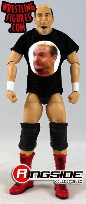 WWE JAMES ELLSWORTH MATTEL SERIES 55 ELITE WRESTLING ACTION FIGURE RAW SD LIVE
