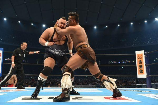 PHOTOS FROM THE NEW JAPAN RUMBLE AT WRESTLE KINGDOM 12 ON 1/4 AT THE