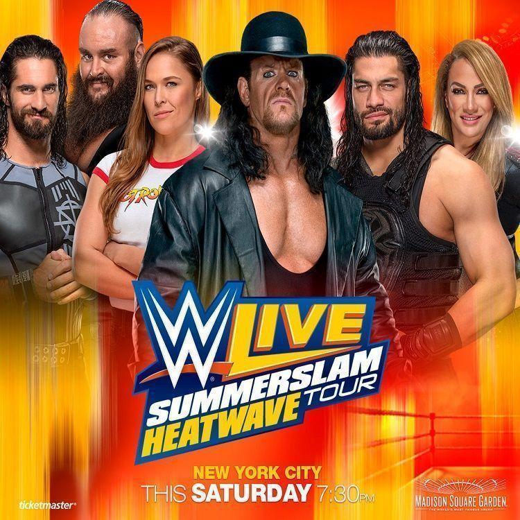 What Is Wwe Summerslam Heatwave Tour