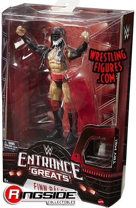 MATTEL WWE ENTRANCE GREATS FINN BALOR RSC FIGURE INSIDER