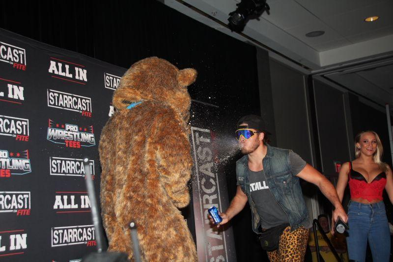 weigh  press conference  starrcast wrestlingfigs