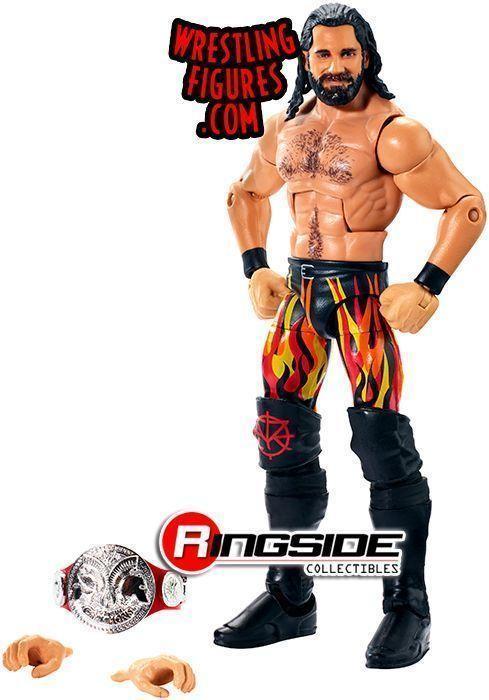 Mattel Accessories for WWE Wrestling Figures Seth Rollins Shirt E52