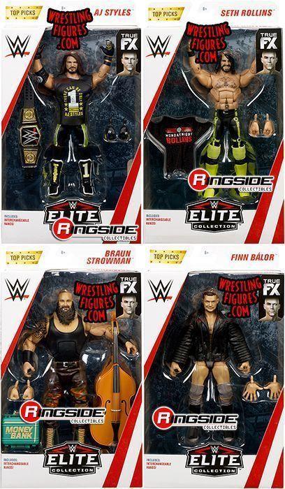 """WWE Elite /""""Top Talent 2019/"""" Mattel Toy Wrestling Action Figure Seth Rollins"""